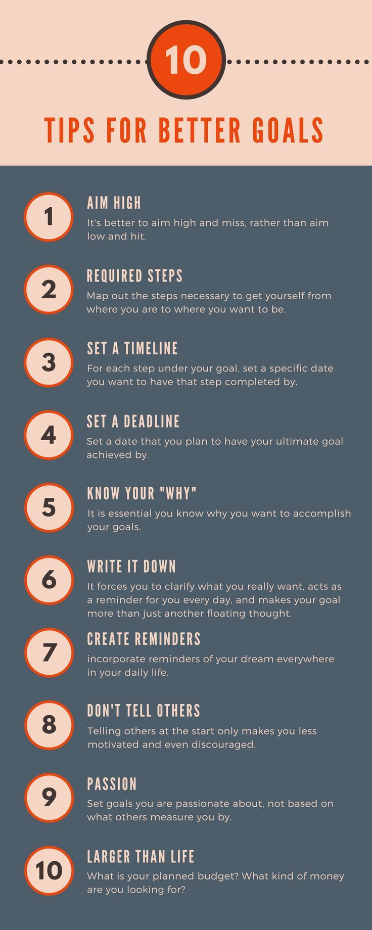Tips to Help You Set Better Goals