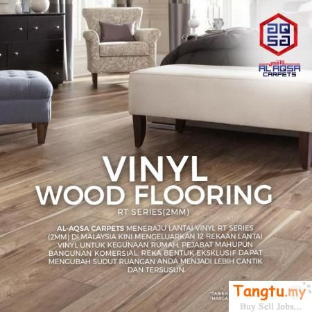 Harga Lantai Kayu Vinyl Wood Vinyl Price Cheap Malaysia 2mm Klang