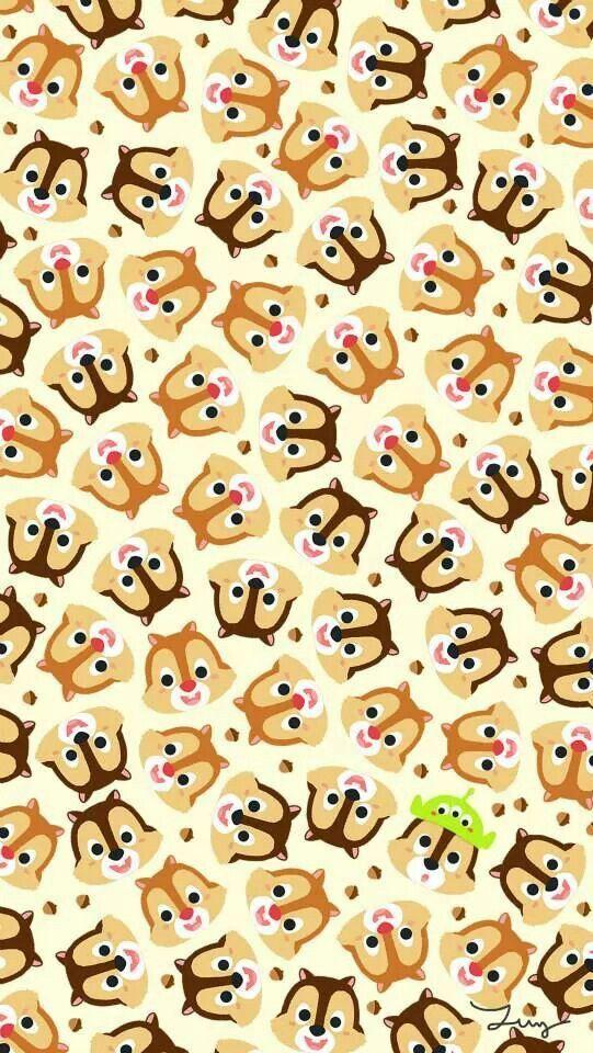 Chip N Dale Cute Disney Wallpaper Disney Wallpaper Wallpaper