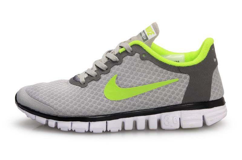 grossiste 28895 71344 Nike Free 3.0 V2 Grey Green   Nike Free 3.0 V2 Womens ...