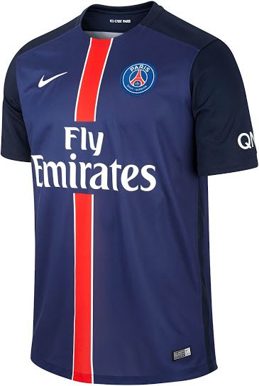 Paris Saint-Germain 15-16 Kits Revealed - Footy Headlines