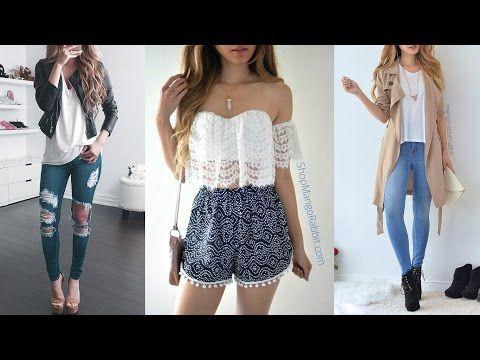 Ropa De Moda Juvenil 2017 X2f Outfits Ideas Para Toda Ocación Youtube Ropa De Moda Ropa De Moda 2017 Outfit 2017