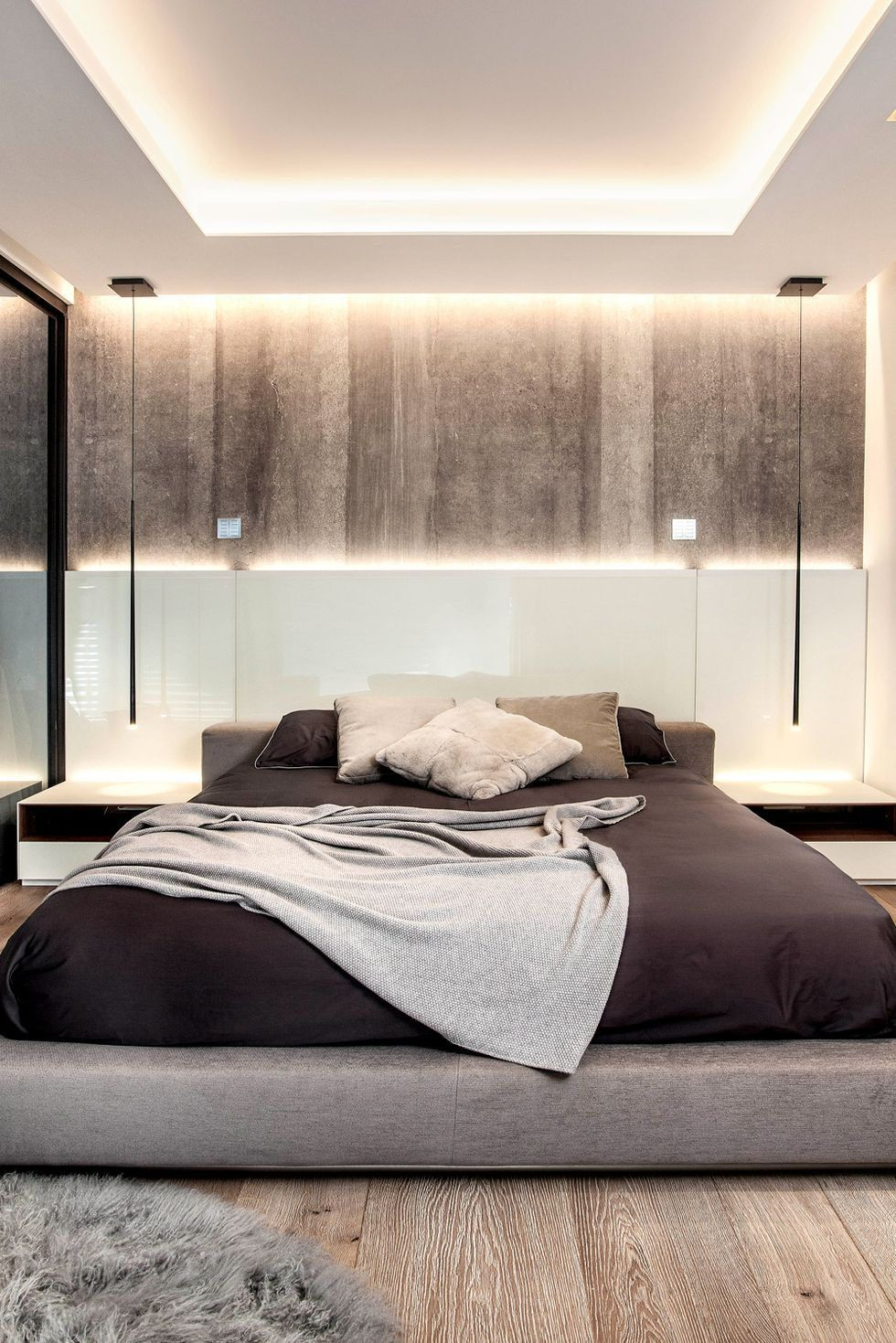 these sophisticated bedrooms will convince you to try a on unique contemporary bedroom design ideas for more inspiration id=85057
