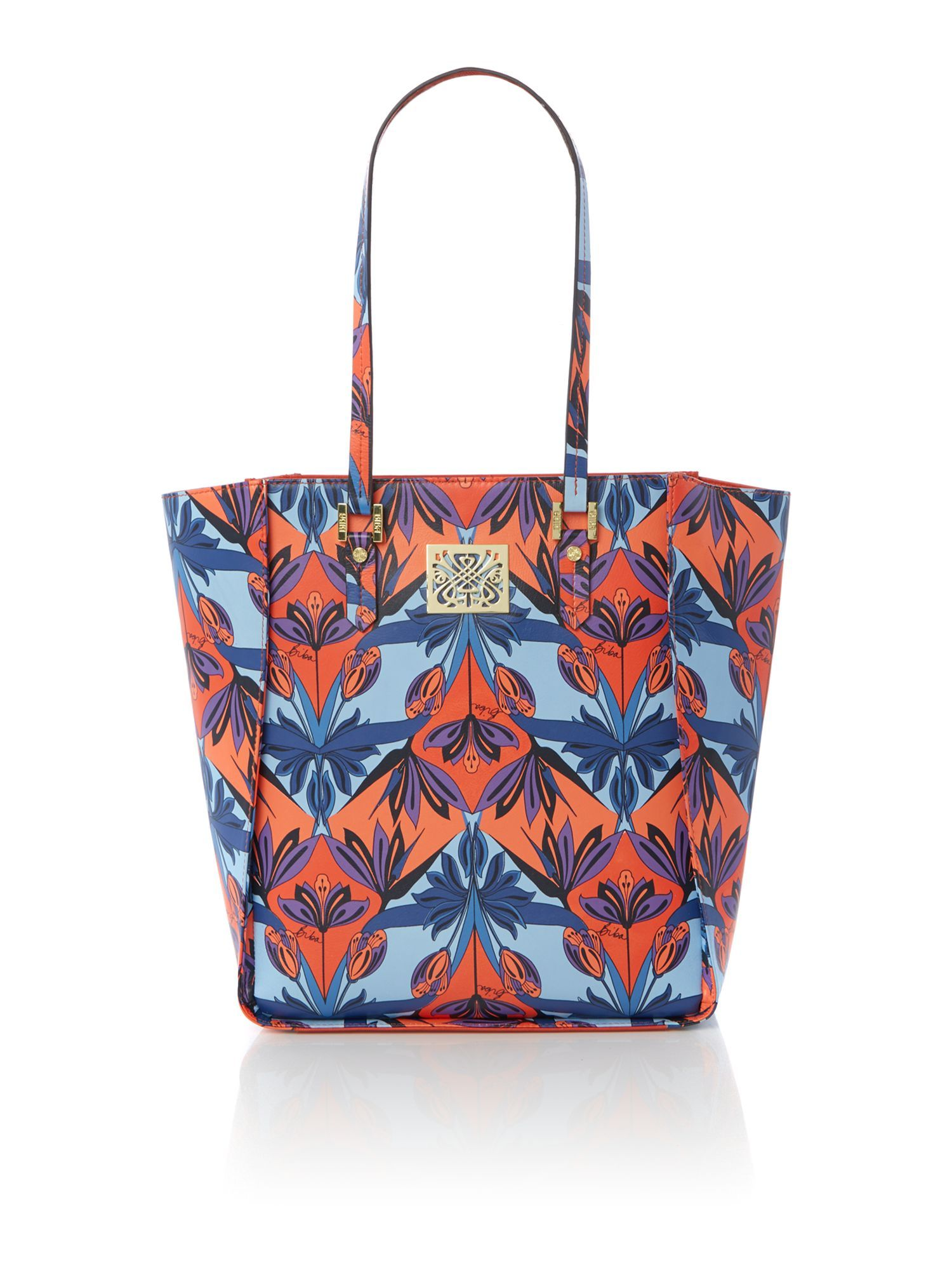 Capsule Winged Tote Bag And Clutch LSR0HIT1f