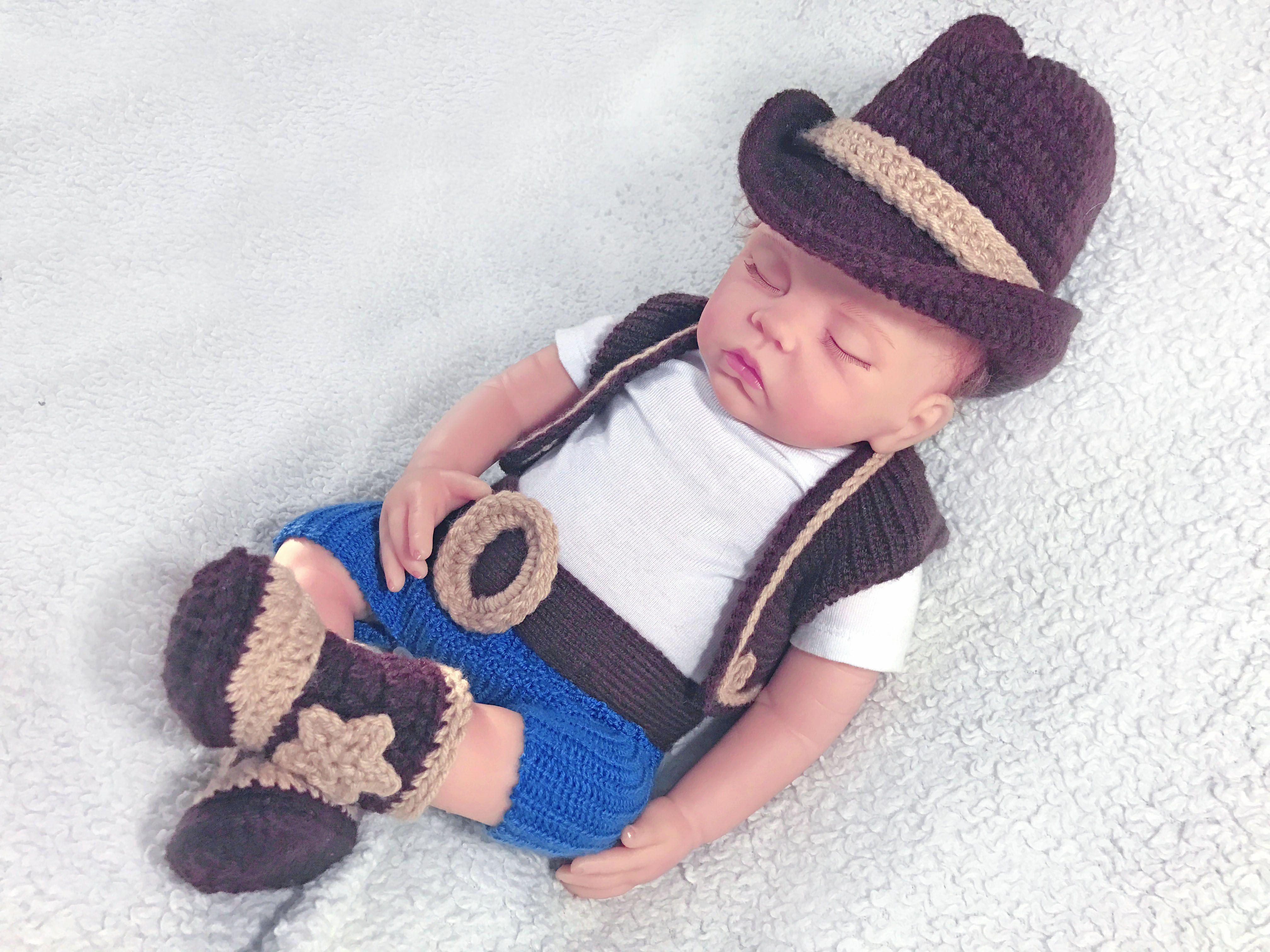 Nett Baby Cowboy Hut Häkelmuster Galerie - Strickmuster-Ideen ...