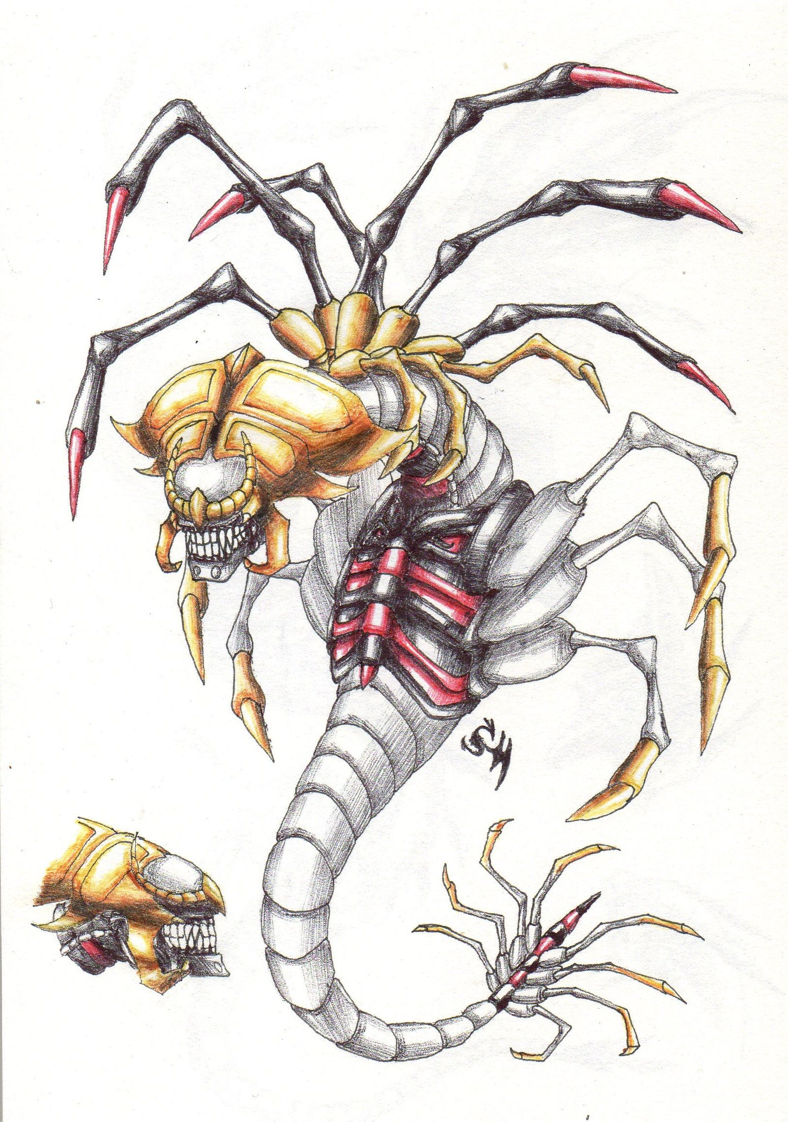 Facehugger Giratina #pokemon #giratina #alien #xenomorph #