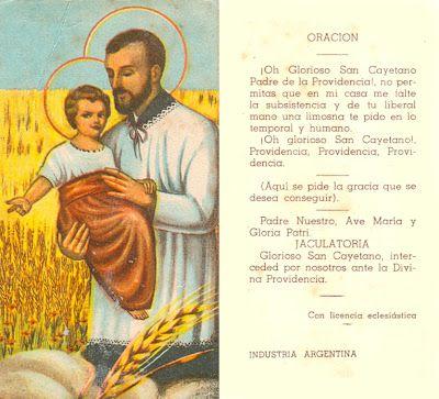 Frases En Imagenes Oraciones A San Cayetano San Cayetano