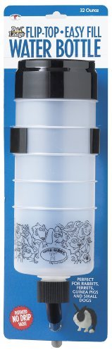 Little Giant Farm & Ag Miller Manufacturing FTB32 32-Ounce Fliptop Cage Water Bottle by Little Giant Farm & Ag. $9.99. Cage water bottle. Size is 32 ounces. Great for any wire cage. Hinged top flips up for easy cleaning and filling. 32 Oz Fliptop Cage Water Bottle. Miller Manufacturing Company is a customer driven manufacturer and international distributor of farm, ranch and pet products.  Miller Manufacturering/Little Giant has been a market leader for over 69...