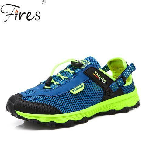 Mens Women's Spring Summer Outdoor Walking Shoes Breathable Mesh Antiskid Athletic Sport Water Shoes