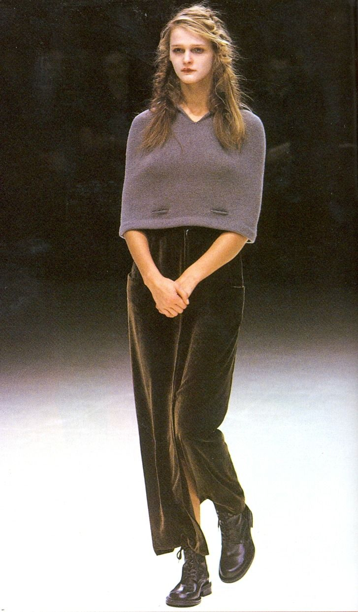 Yohji Yamamoto Fall Winter 1999 Archive 8 0 S I 9 0 S In