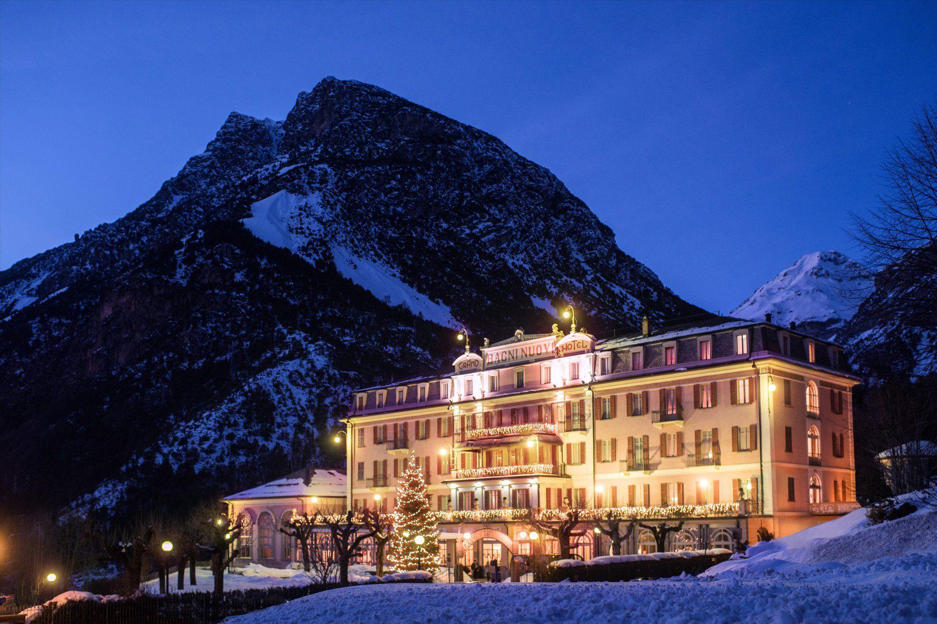 Grand Hotel Bagni Nuovi Bormio Qc Terme Bagni Di Bormio Grand