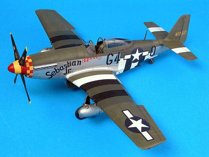 """P-51D Mustang """"Sebastian Jr."""" by Brett Green (Tamiya 1/48)"""