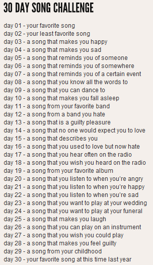 All Time Low Take The Facebook 30 Day Song Challenge