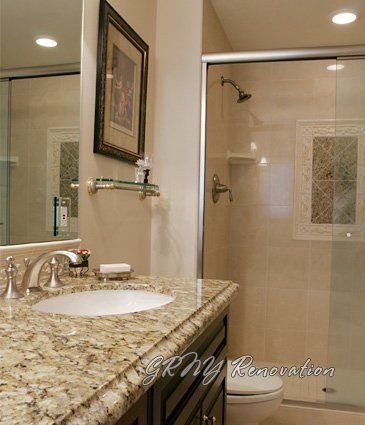 Typical Nyc Bathroom Renovated  Granite Color  For The Home Brilliant Bathroom Remodeling Nyc Inspiration Design