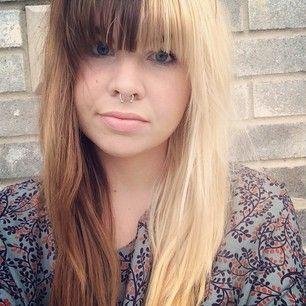 28 Ladies Who Perfected Split Dyed Hair Split Dyed Hair Half And Half Hair Brown Hair Dye