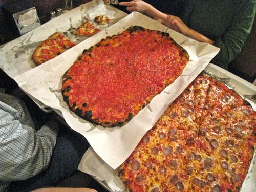 Eggplant And Clam Casino Pizza At Modern Apizza In New Haven Ct Clams Casino Pinterest Recipes Cooking