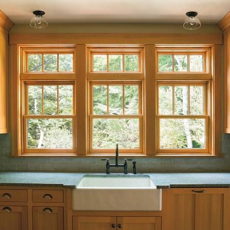 Andersen A Series Double Hung Windows With Transoms One Touch