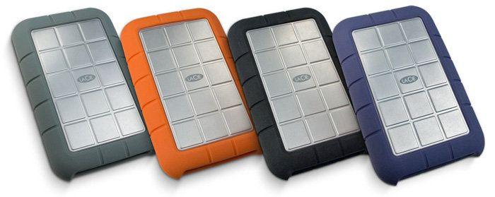 Lacie Rugged All Terrain 500 Gb Ext Hard Drive Portable External Hard Drive External Hard Drive Hard Drive