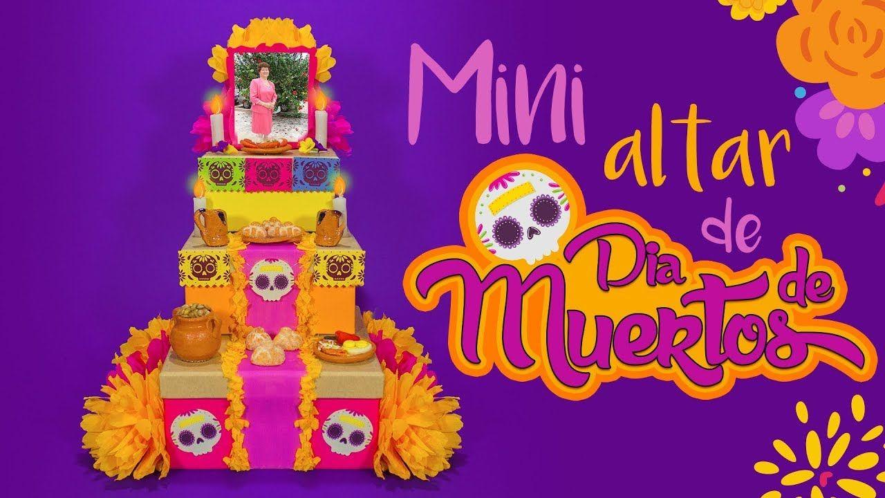 Diy Mini Altar De Muertos Dia De Muertos Mini Altar De