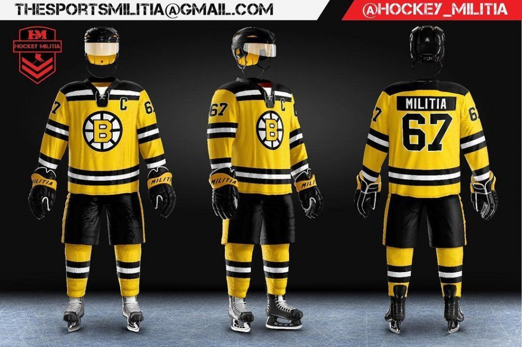 We love how @hockey_militiaused our hockey uniform ...