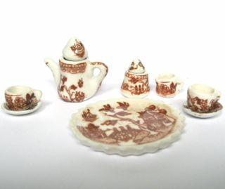 PKB-PTS - Miniature Porcelain Tea Set