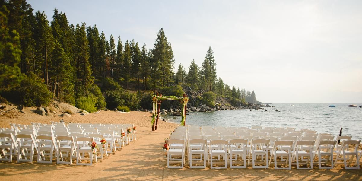 Weddings At Round Hill Pines Beach Resort In Zephyr Cove Nv Wedding Spot Lake Tahoe Wedding Venues Tahoe Wedding Venue Beach Resorts