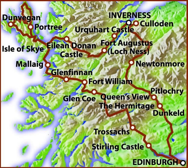 Scottish Highland and Island Special Tour Travel Pinterest