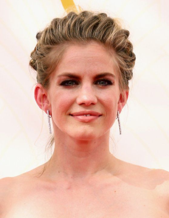 Pictures Photos Of Anna Chlumsky Wedding Party Hair French Braid French Braid Updo