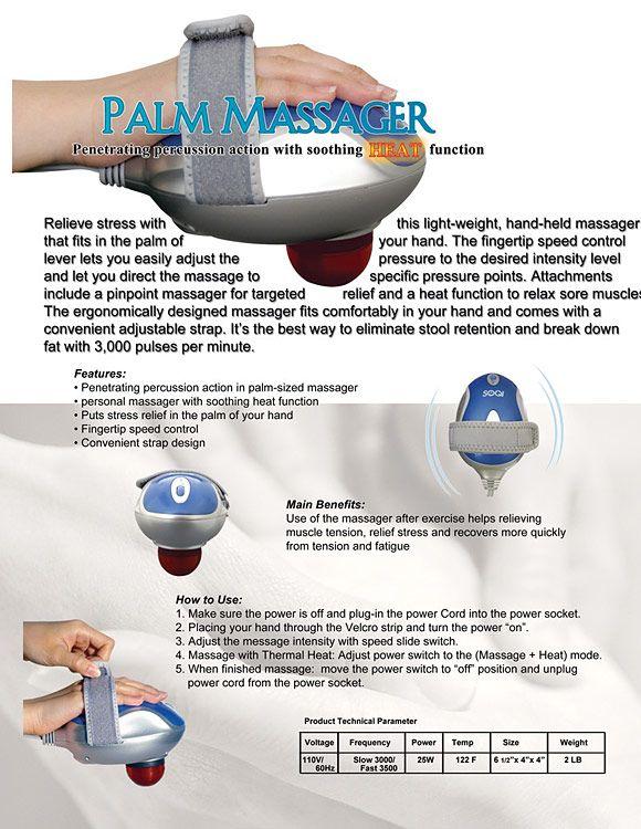 Palm Massager Home Spa Pinterest