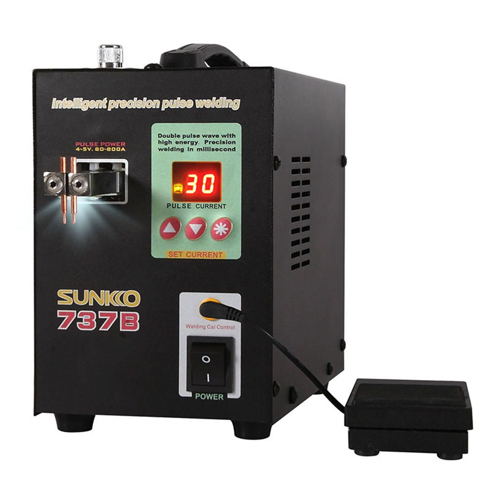 Us 162 26 Sunkko 737b 1 5kw 110v Dual Modes Spot Welding Machine