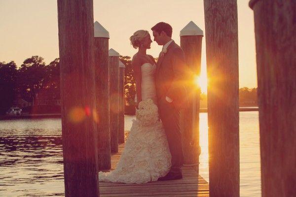 Waterfront Virginia Beach Wedding love this shot