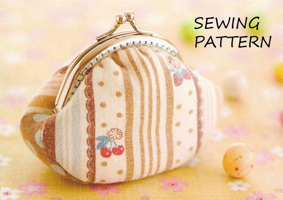 Coin Purse Pattern Sewing Pattern Frame Purse Easy By Giftsandbobs