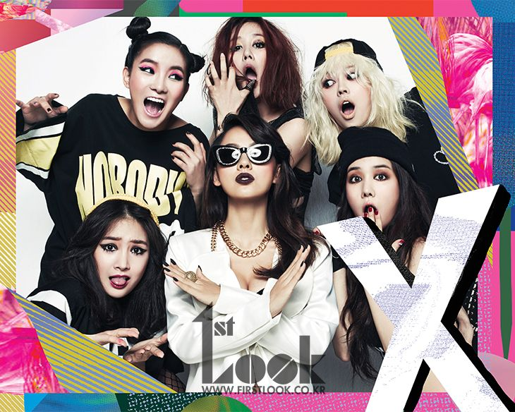 Lee Hyori Is a Fierce Unni for SPICA in 1st Look Magazine
