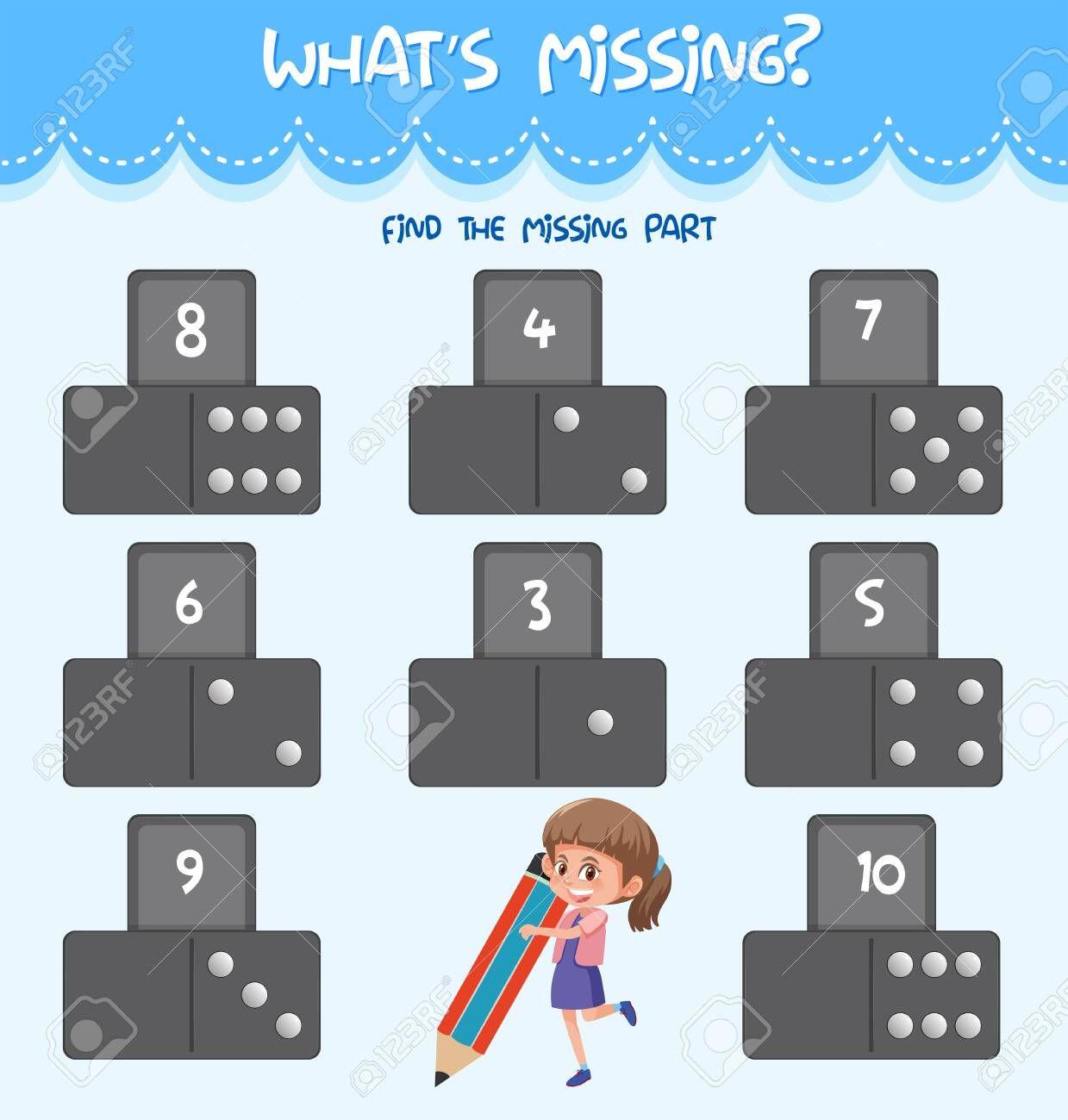 Math Missing Number Worksheet Illustration Illustration Spon Number Missing Math Illustrati In 2020 Number Worksheets Math Numbers Missing Number Worksheets