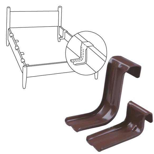 Bed Support Rails Set Of 6 Zoom Wood Bed Frame Metal Bed