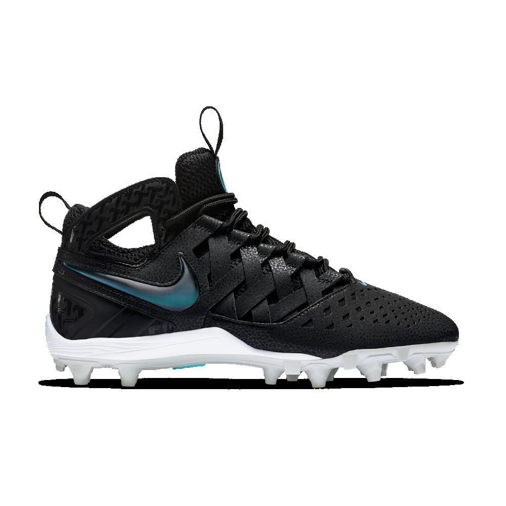 92cac22aaae1 Nike Huarache V Elite Men s Lacrosse Cleat Size 3.5 (Black) - Clearance Sale