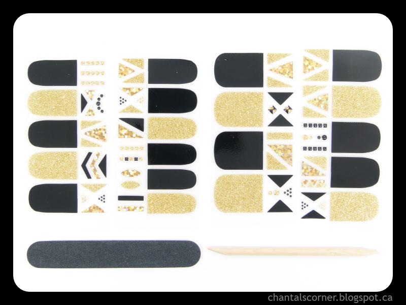 KISS Gel Dress Nail Strips in Royal Flush - Review ~ Chantal\'s ...