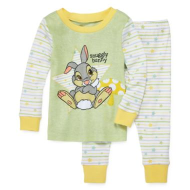 6836c089be250 Disney Baby Collection Thumper Pajamas - Baby Girls newborn-24m found at @ JCPenney