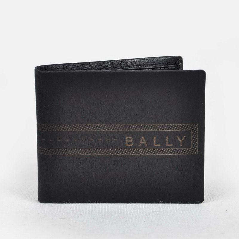 b0279253ca7 Bally black Men s Wallet Purse