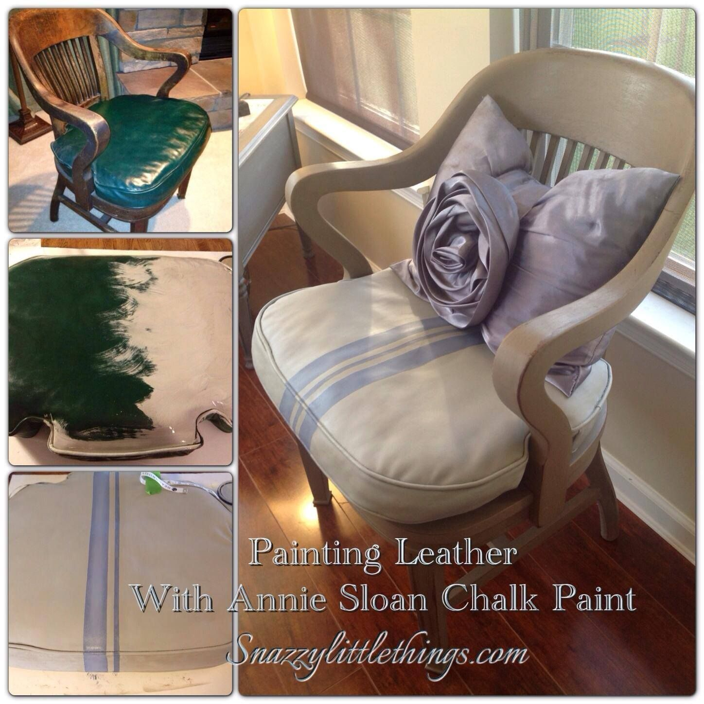 DIY Painting Leather
