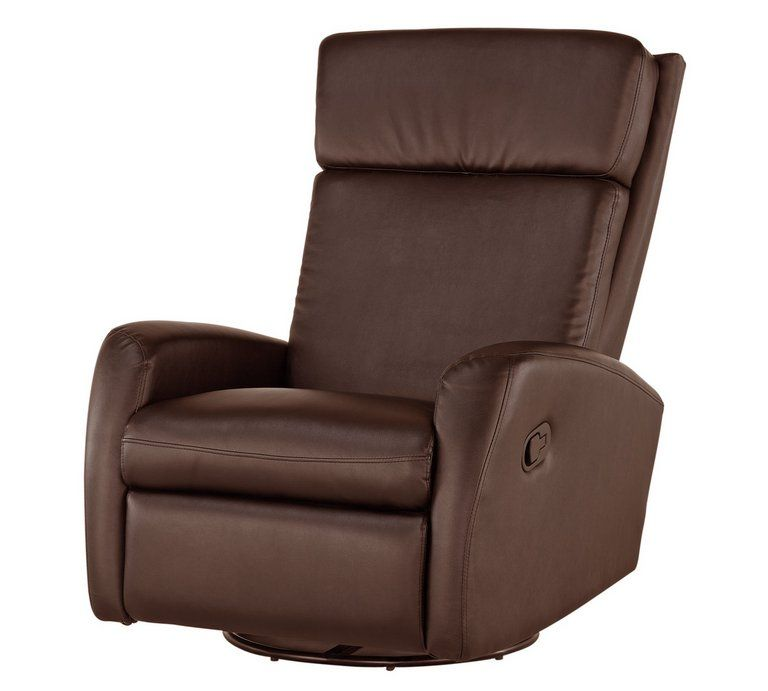 Electric Recliner Chairs Argos Tall Outdoor Buy Collection Rock R Round Leather Eff Chair Choc Armchairs And