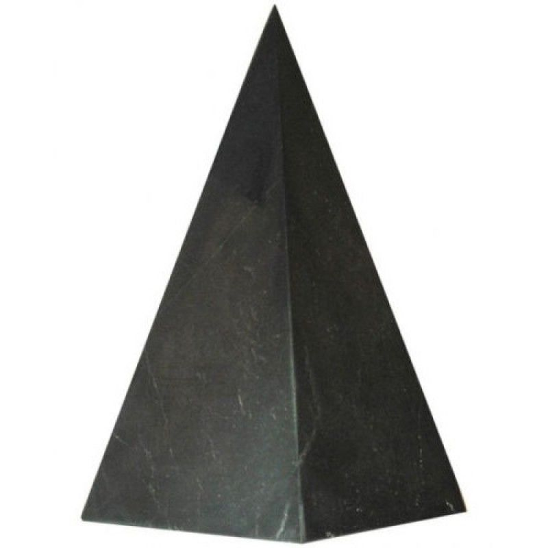 50 mm Non-polished shungite high pyramid for sale $17.59 | Shungite ...