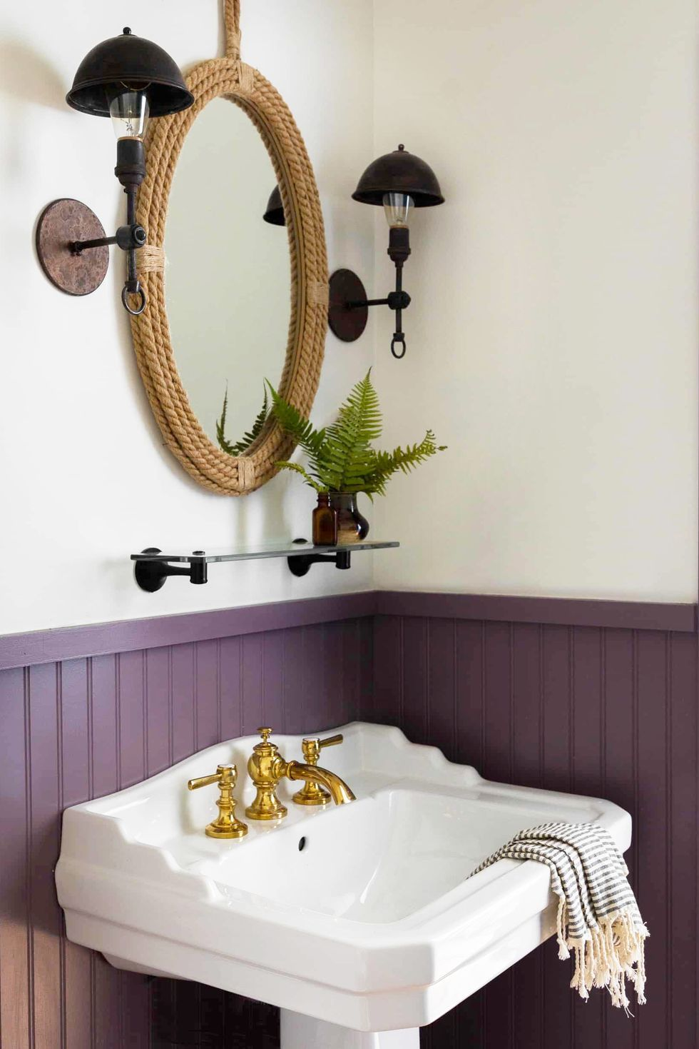 Pin on Purple bathroom paint