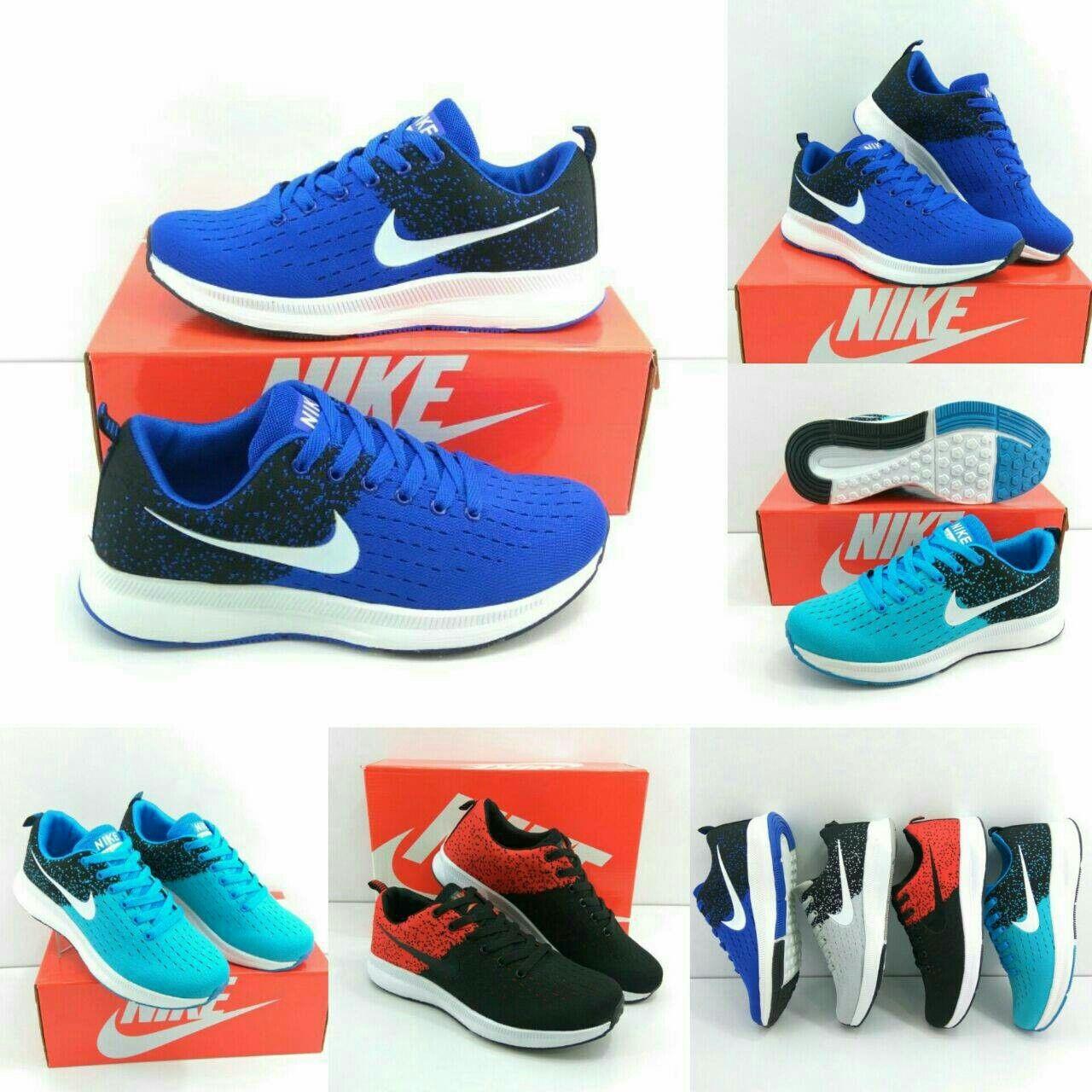 Shoes Sport Nike 2017 Cowok Kwalitas Semi Premium Tersedia 4 Warna