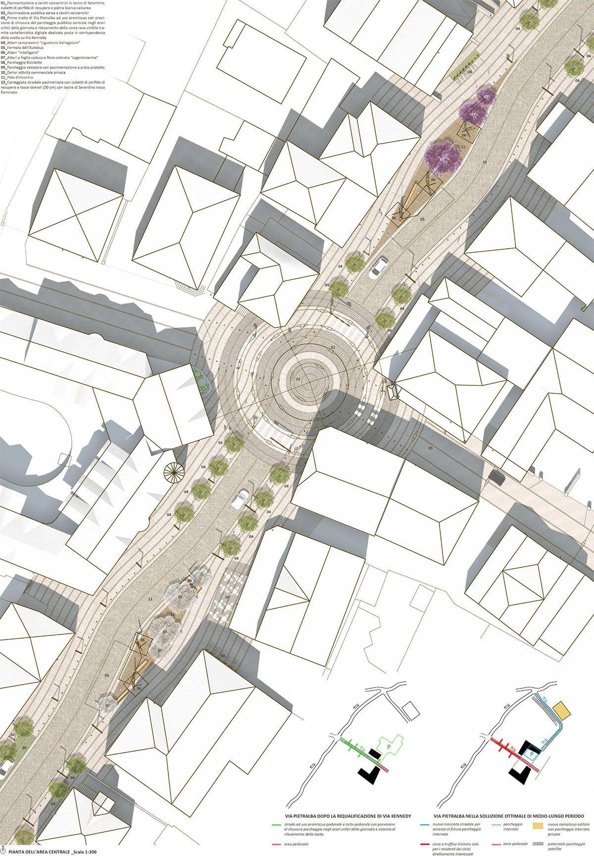 landscape architecture blueprints. Exellent Architecture Architecture Drawings  Lento VS Veloce Inside Landscape Blueprints