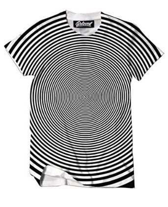Beloved Shirts Hypnotics T-Shirt - Premium All Over Print Graphic Tees | Amazon.com