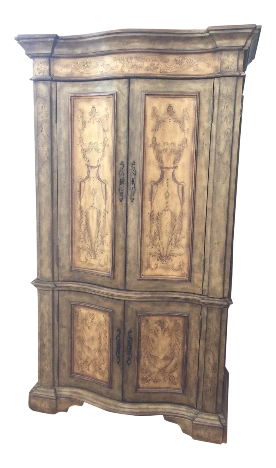 Attrayant Hooker Furniture Hand Painted Armoire