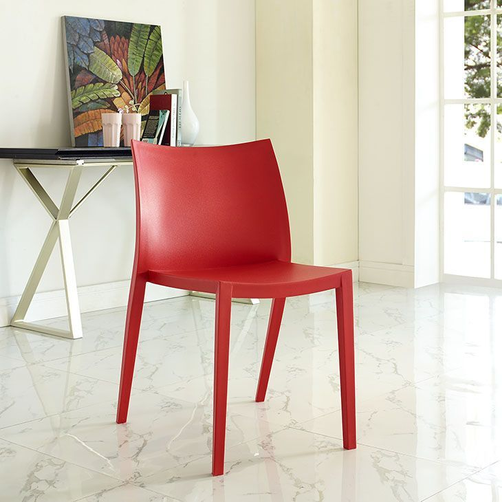 Gallant Dining Side Chair Red  Blaze Your Path Heroically Glamorous Dining Room Chairs Red 2018