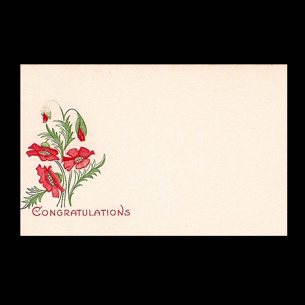 Vintage Floral Shop Gift Tags And Greetings To Your Success And