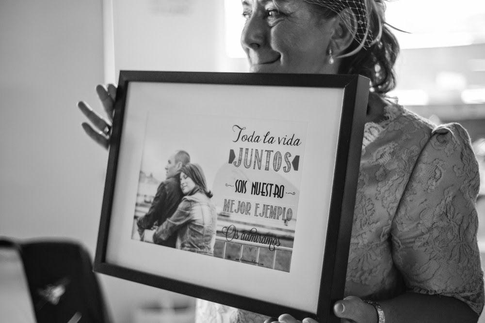 Detalles de boda regalo para padres hermanos abuelos - Regalos a padres ...
